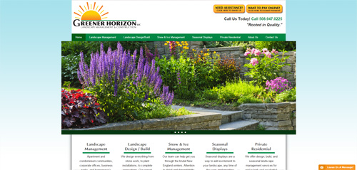 Greener Horizon LLC – Landscape Management & Construction