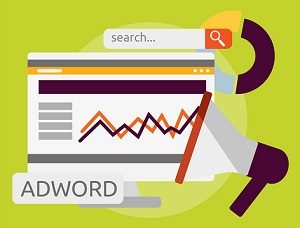 Analysis on search results with Google AdWords.