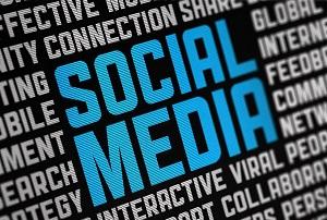 Social media on textiles.