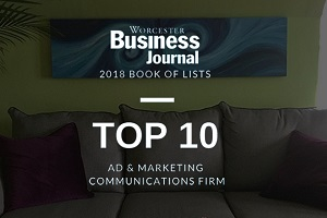 Worcester Business Journals Book of Lists for Vision Advertising