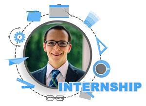 Internship experience of Caleb McFarland.