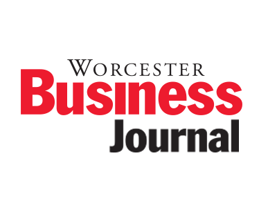 Logo of the Worcester Business Journal.