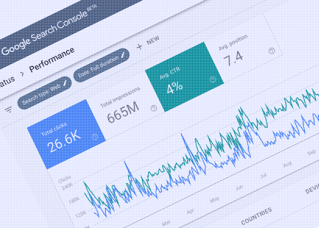 Image of the Google Search Console.